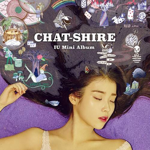 IU - 4th Mini Album: CHAT-SHIRE CD