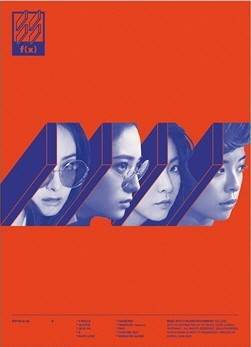 F(x) - 4th Album: 4 Walls CD