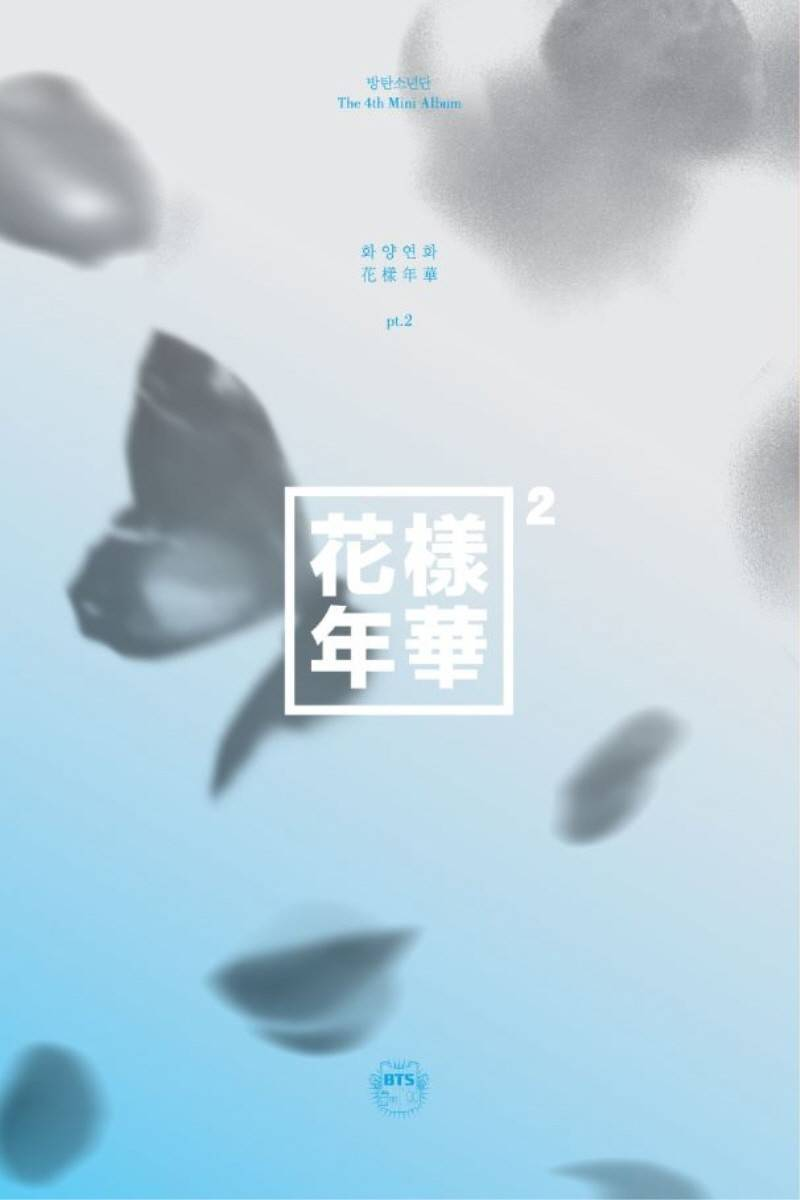 BTS - 4th Mini Album: In the Mood for Love Part 2 (Blue Version) CD