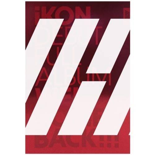 IKON - Debut Full Album: Welcome Back CD (Red/Green)