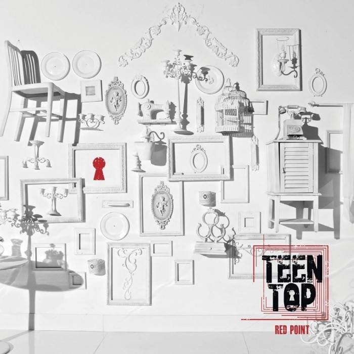 Teen Top - 7th Mini Album Red Point (Chic Ver.)