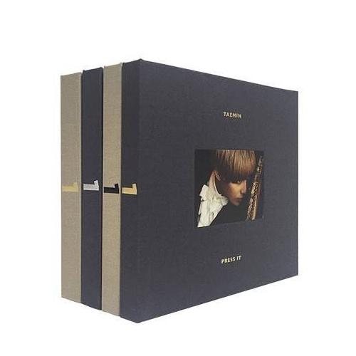 テミン (Taemin, Shinne) - 1st Album: Press It CD