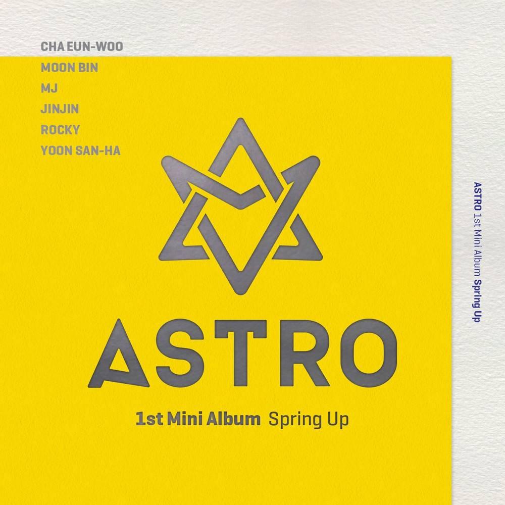 Astro - 1st Mini Album: Spring Up CD