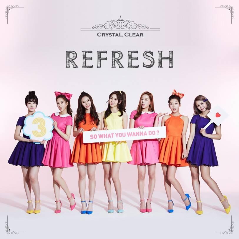 CLC - 3rd Mini Album: Refresh CD