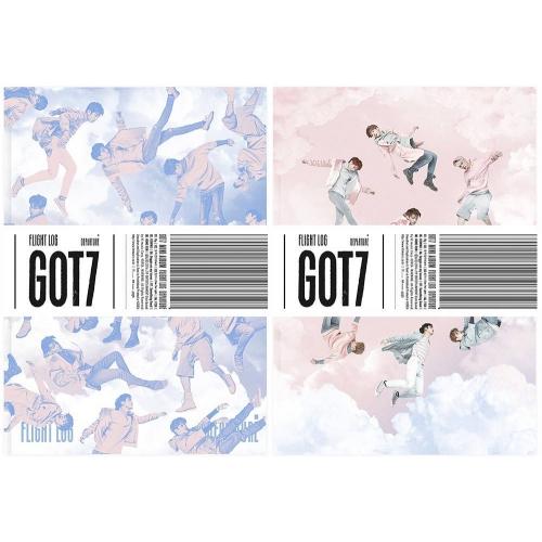 GOT7 - 5th Mini Album Flight Log Departure