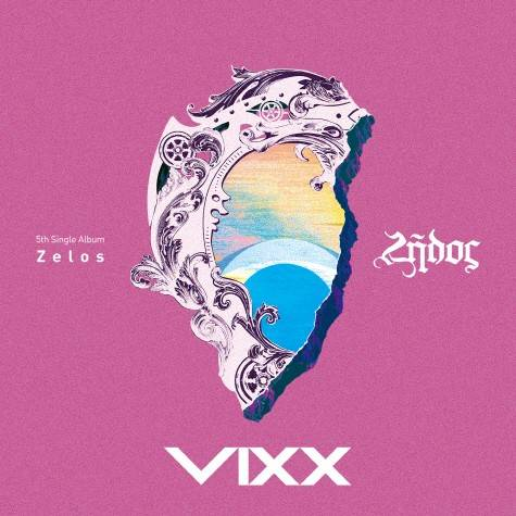 VIXX - 5th Single: Zelos CD
