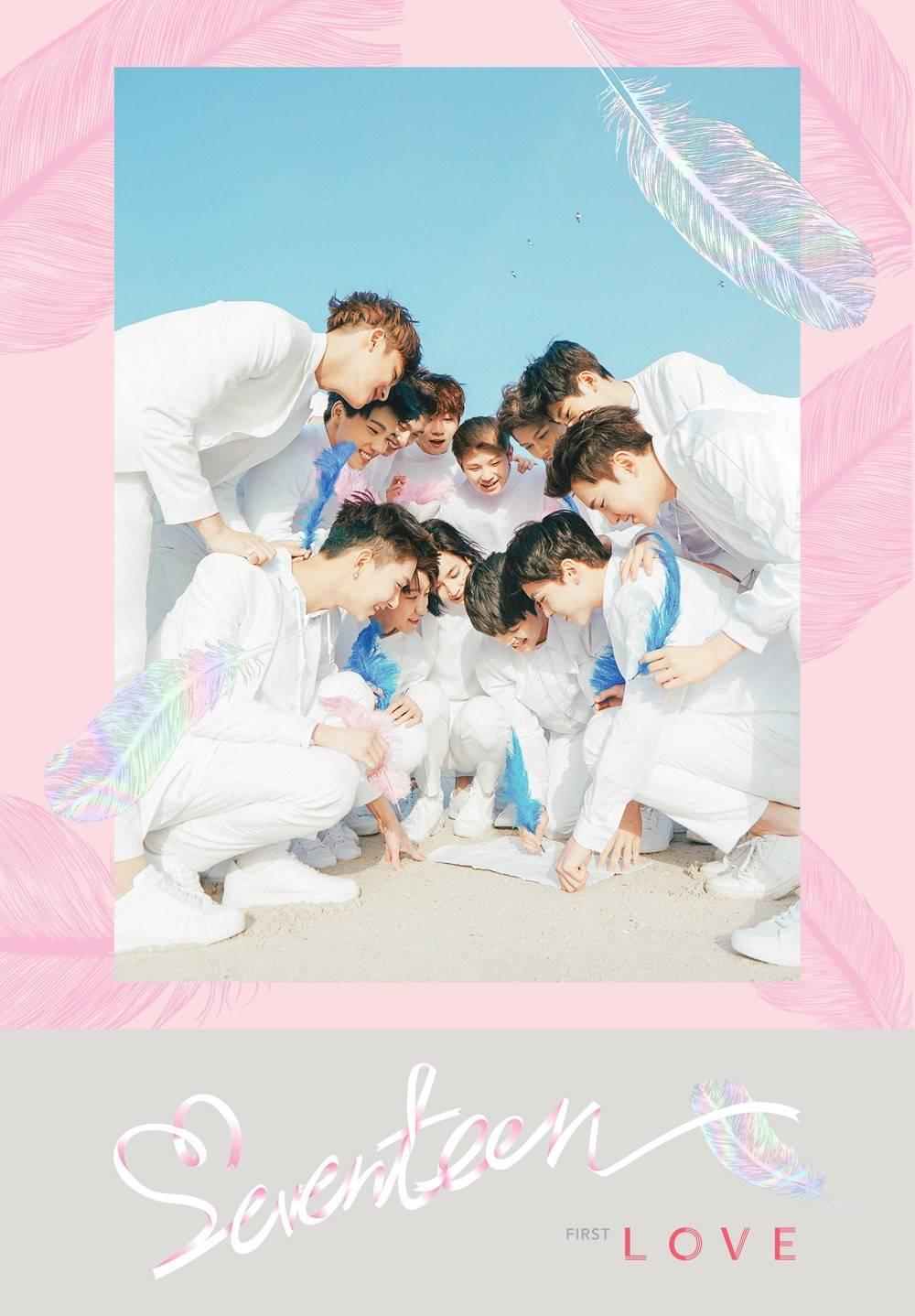 Seventeen - 1st Album: Love & Letter CD (Love Version)