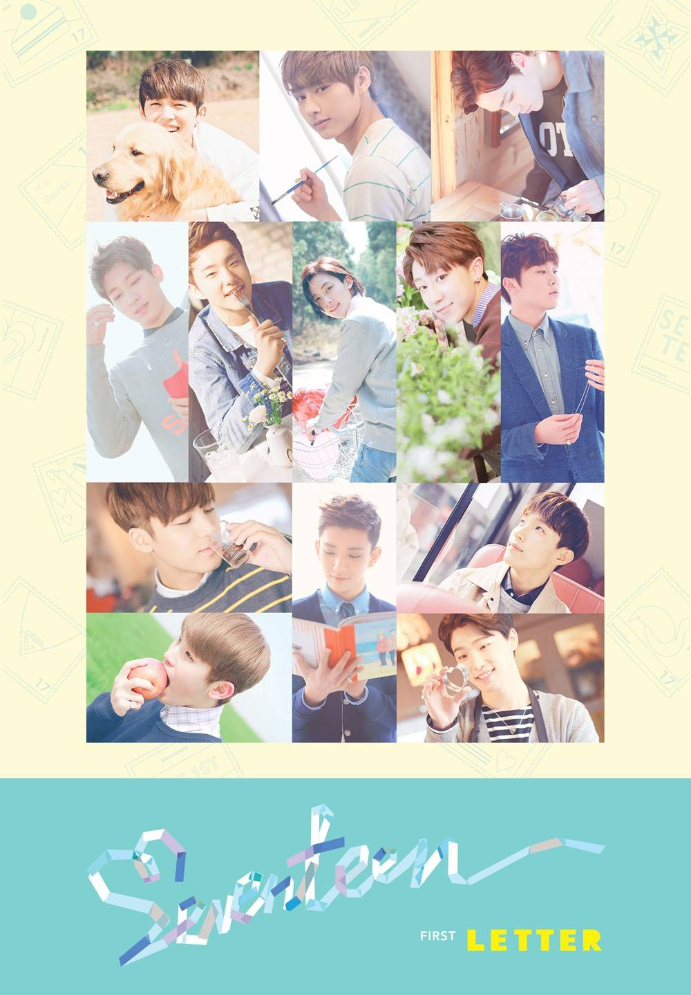 Seventeen - 1st Album: Love & Letter CD (Letter Version)