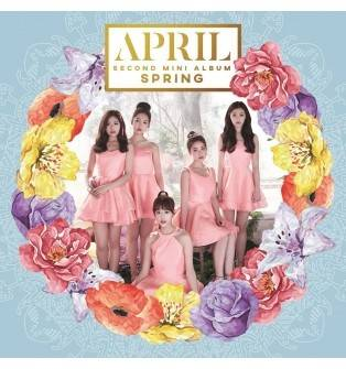 April - 2nd Mini Album: Spring CD