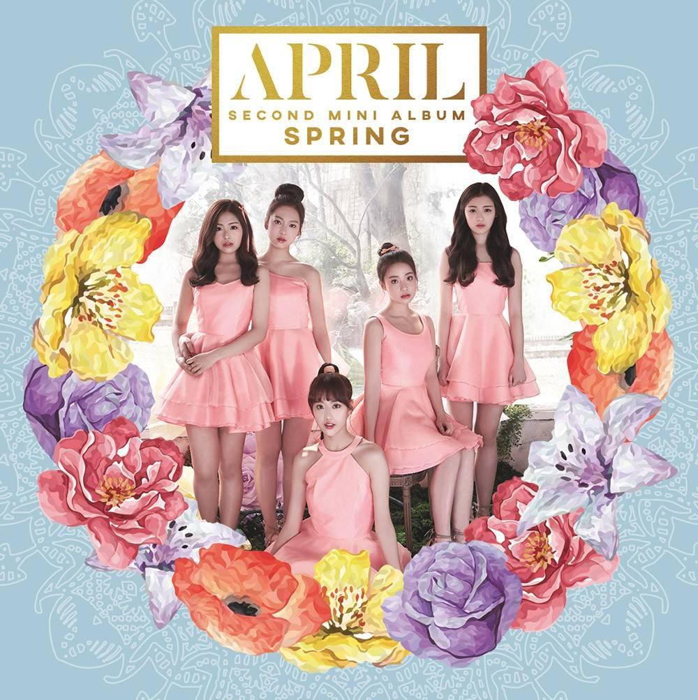 April - 2nd Mini Album: Spring CD