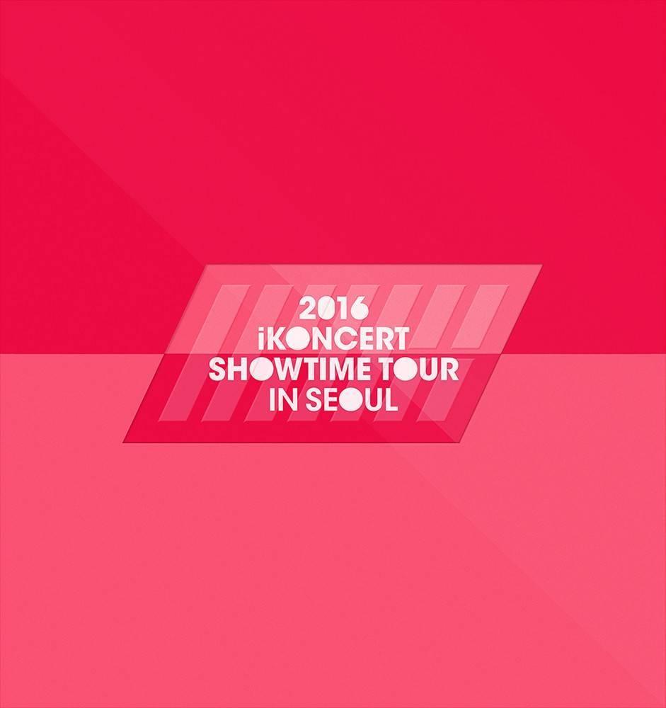 iKON - 2016 iKONCERT Showtime Tour in Seoul CD