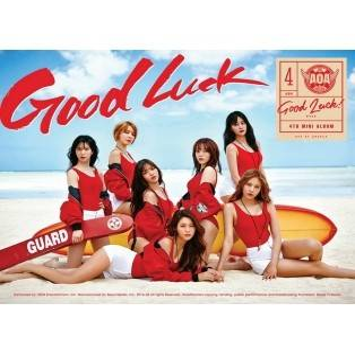 AOA - 4th Mini Album: Good Luck CD (Week Version)