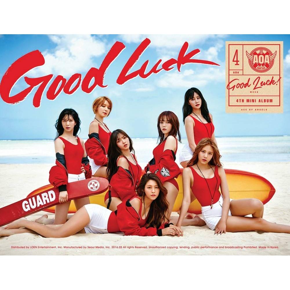 AOA - 4th Mini Album Good Luck (Week Ver.)