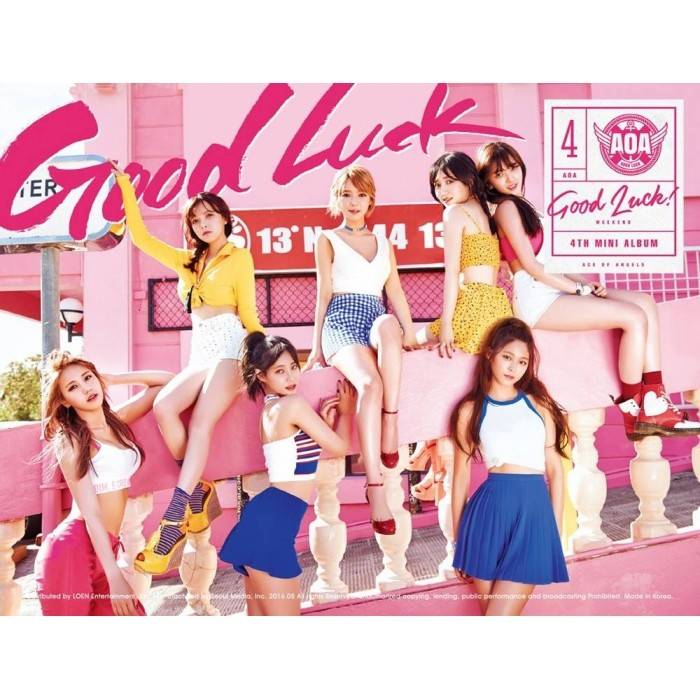AOA - 4th Mini Album Good Luck (Weekend Ver.)