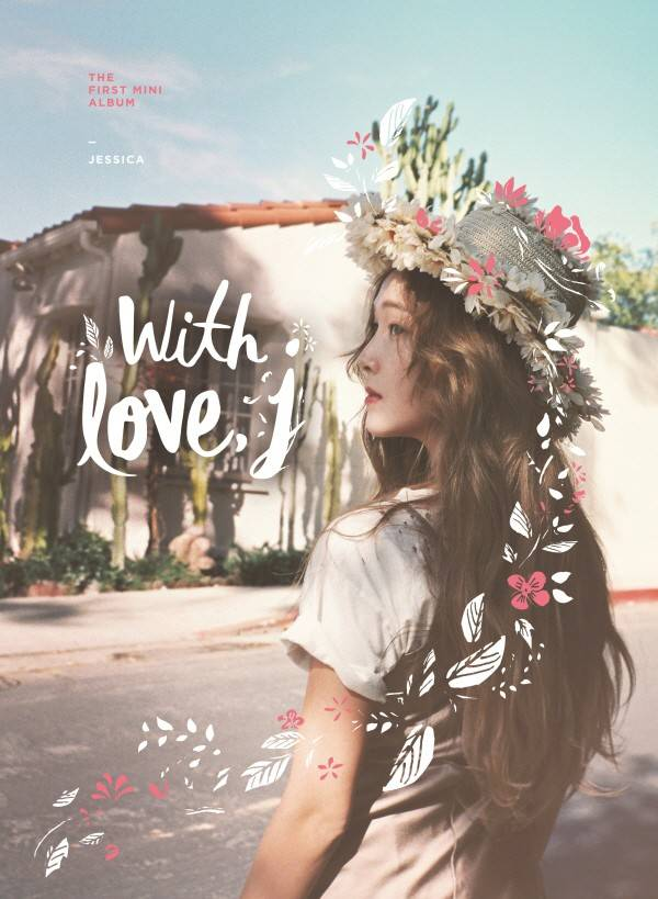 Jessica - 1st Mini Album: With Love, J CD