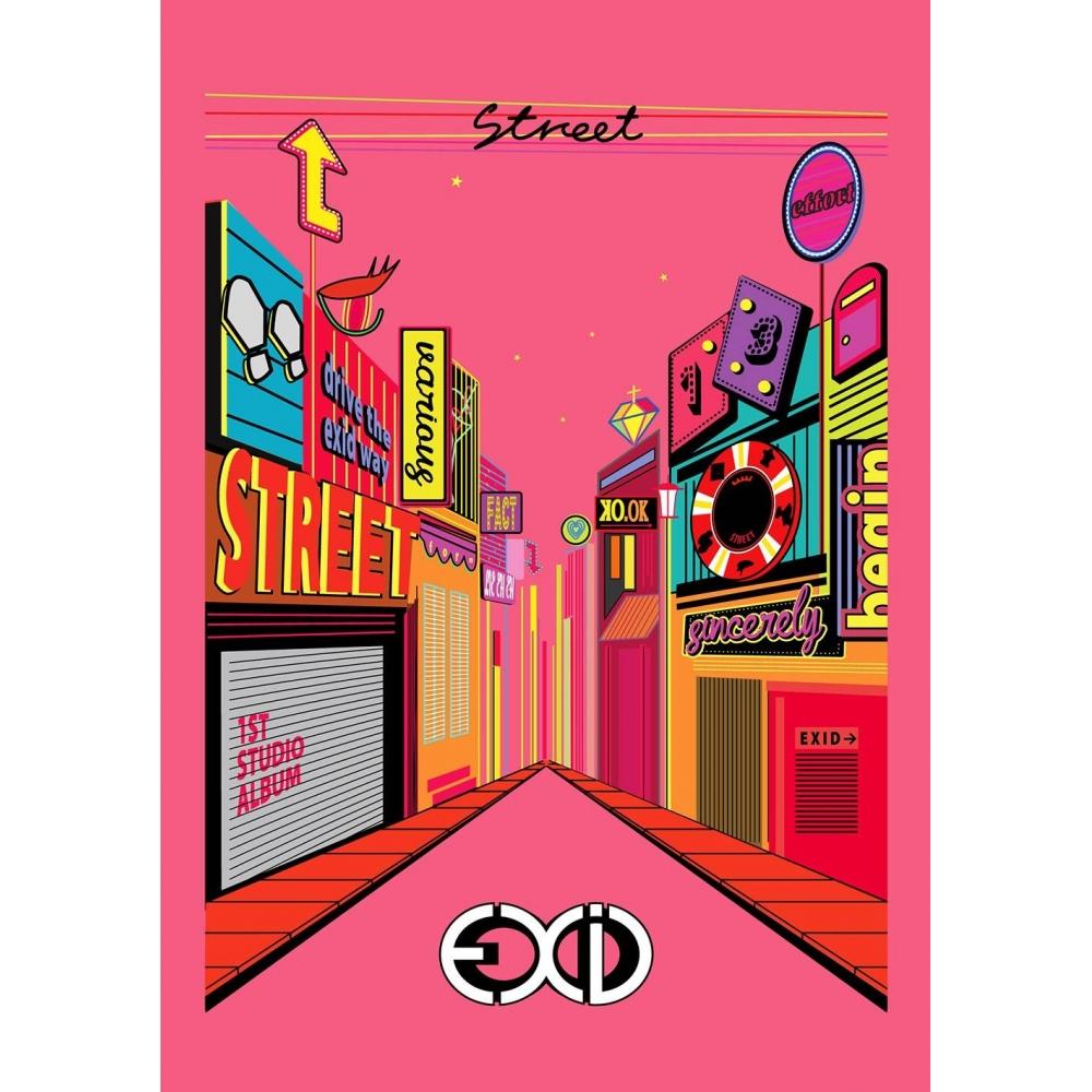 EXID - 1st Album Street
