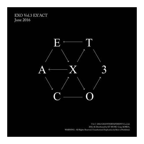 EXO - 3rd Album EX'ACT (Chinese Ver.)