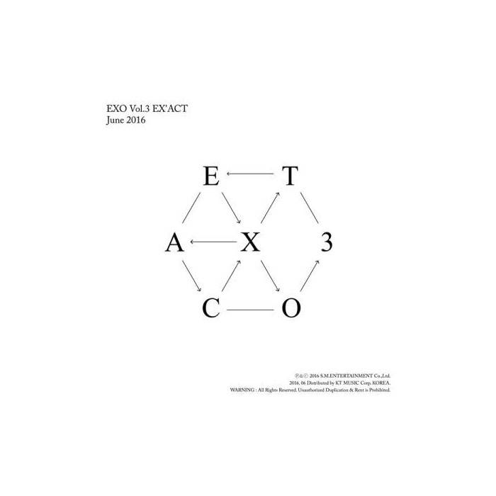 EXO - 3rd Album EX'ACT (Korean Ver.)