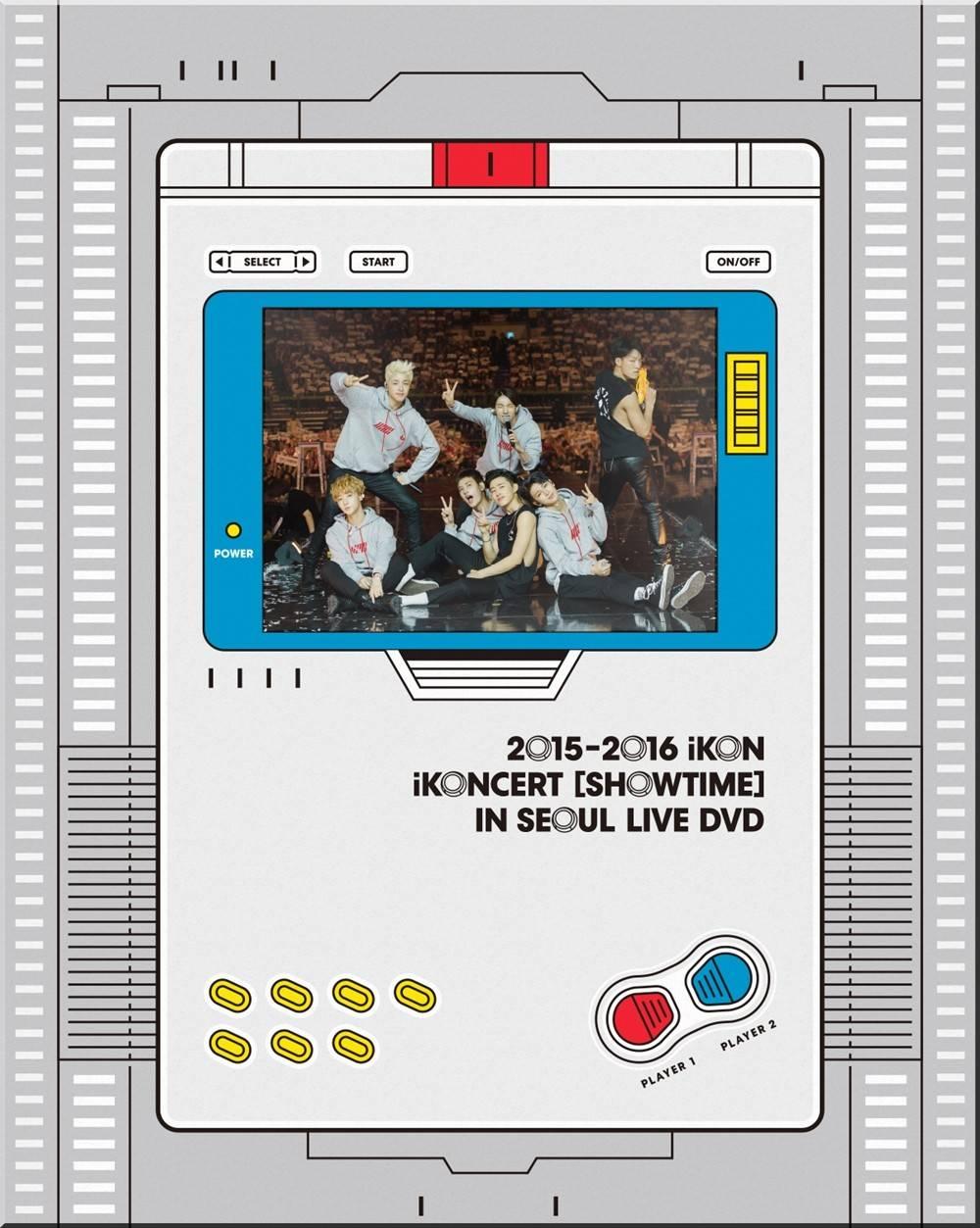 iKON - 2015, 2016 iKON iKONCERT Showtime in Seoul Live DVD
