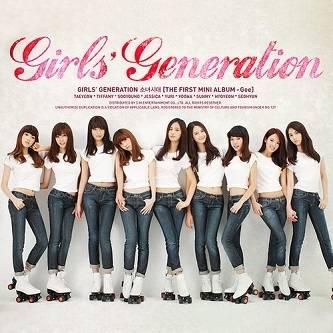 少女時代 (Girls' Generation, SNSD) - 1st Mini Album: Gee CD