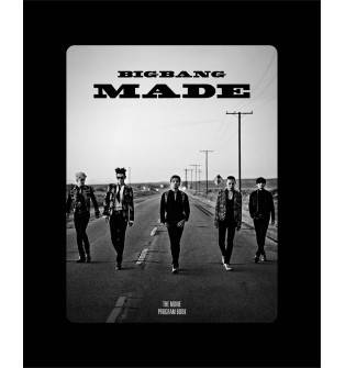Bigbang - Bigbang10 The Movie 'Bigbang Made' Program Book