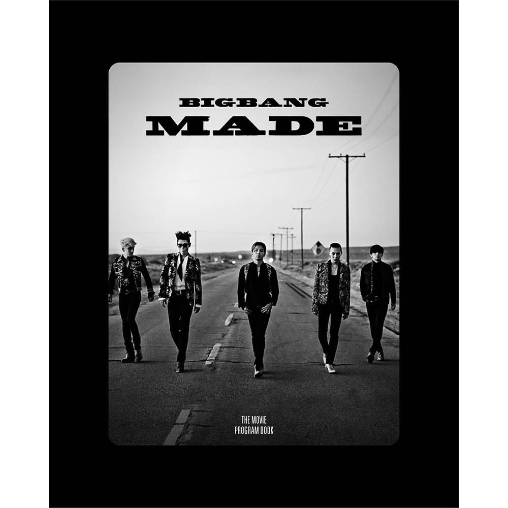 Bigbang - Bigbang10 The Movie 'Bigbang Made' Program Book
