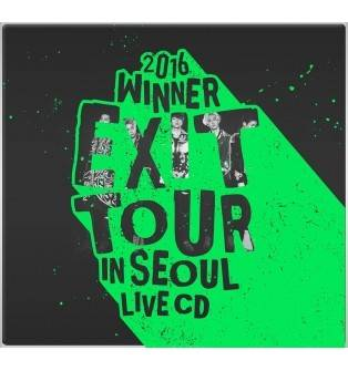 Winner - 2016 Exit Tour in Seoul Live CD