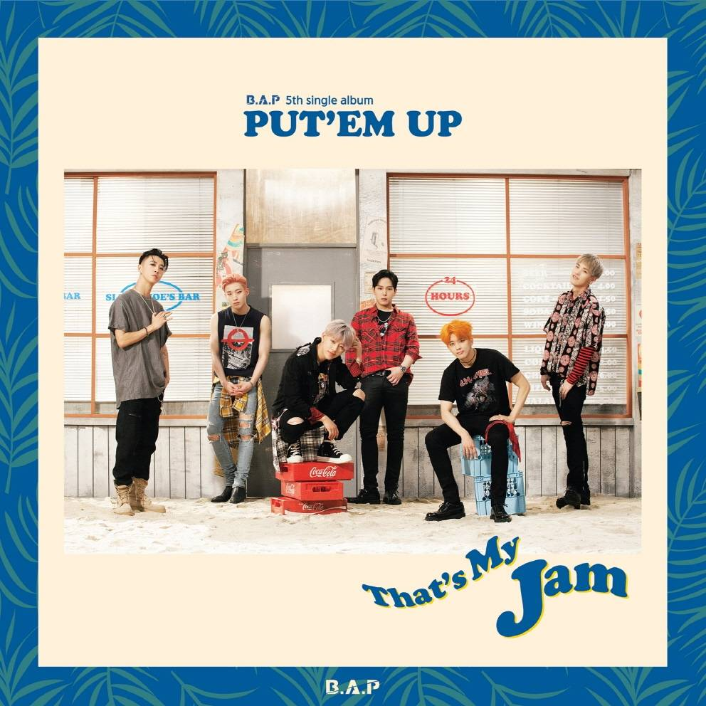 B.A.P - 5th Single Album: PUT'EM UP CD
