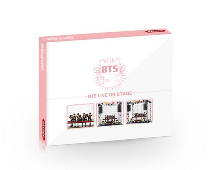 BTS - Live on Stage (BTS X Oxford Block Kit)