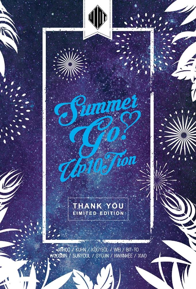 UP10TION - 4th Mini Album: Summer Go! Thank You CD (Limited Edition)