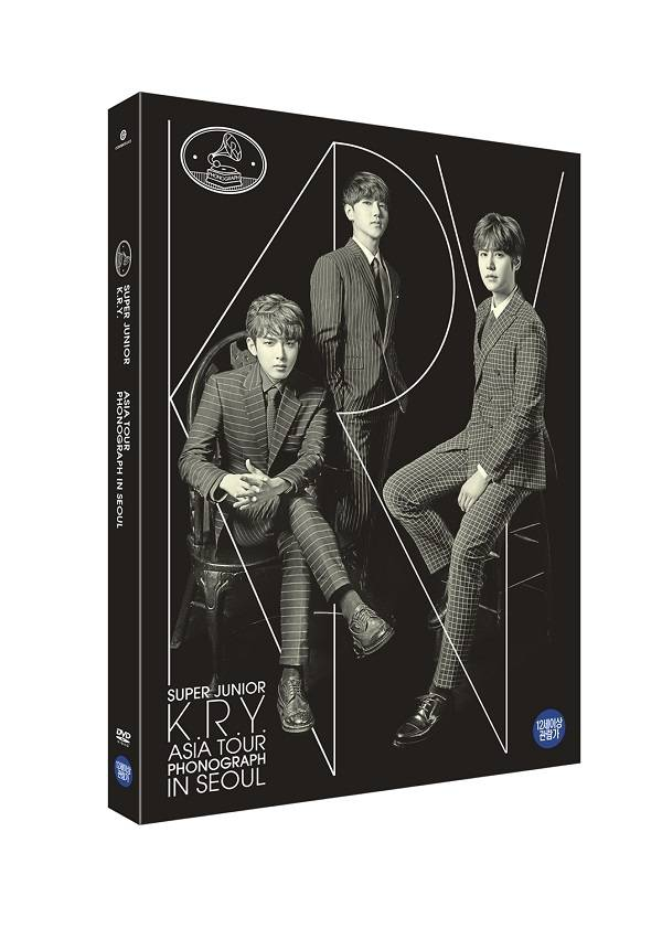 Super Junior K.R.Y. - Asia Tour Phonograph in Seoul DVD
