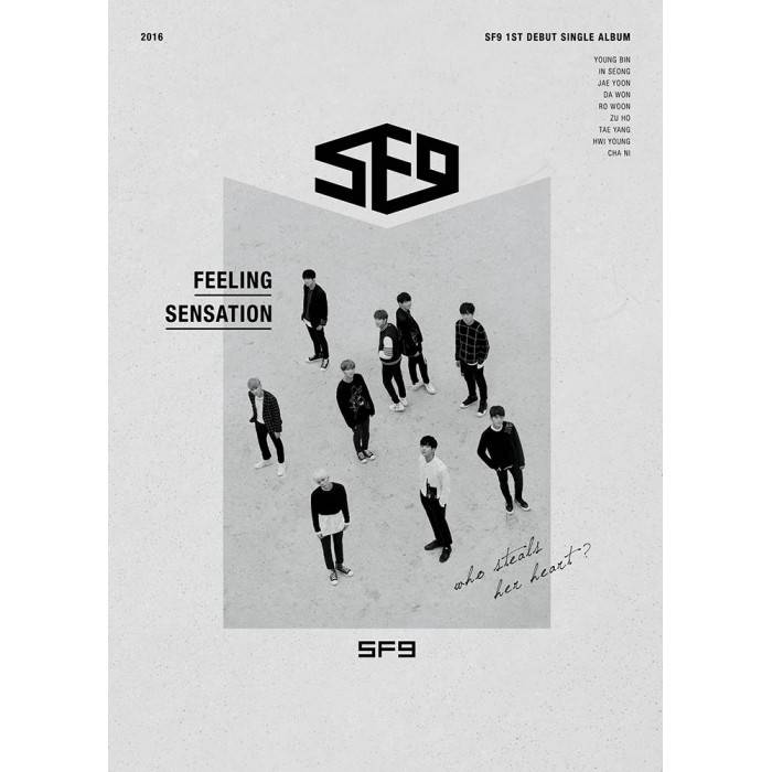 SF9 - 1st Debut Single Album Feeling Sensation