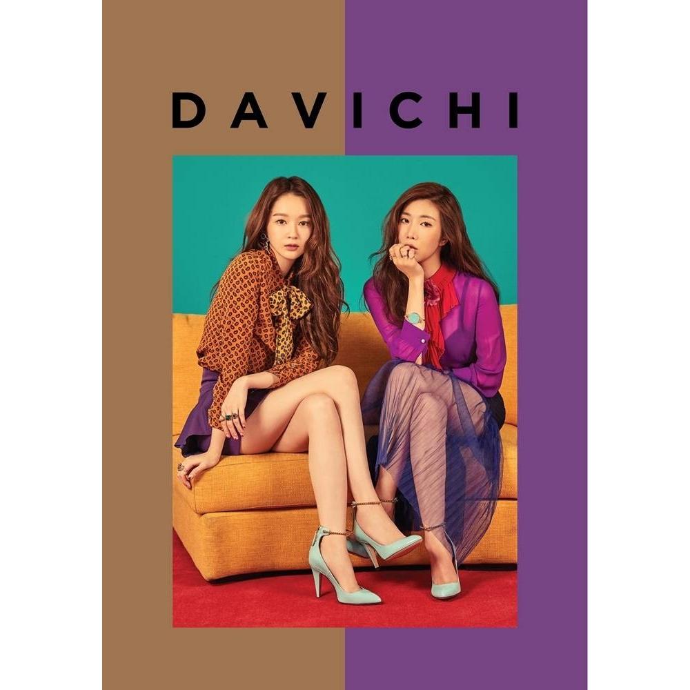 Davichi - 4th Mini Album 50 X HALF