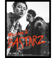 Block B Bastarz - 2nd Mini Album: Welcome to Bastarz CD