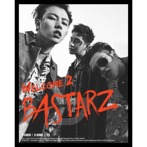 Block B Bastarz - 2nd Mini Album Welcome to Bastarz