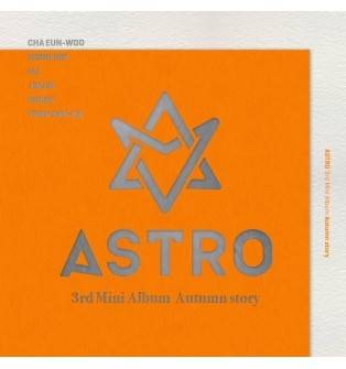 Astro - 3rd Mini Album: Autumn Story CD (Orange Version)