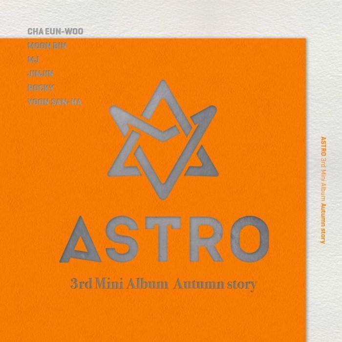 Astro - 3rd Mini Album Autumn Story (Orange Ver.)
