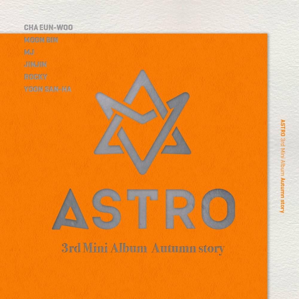 Astro - 3rd Mini Album: Autumn Story CD (Orange Version)
