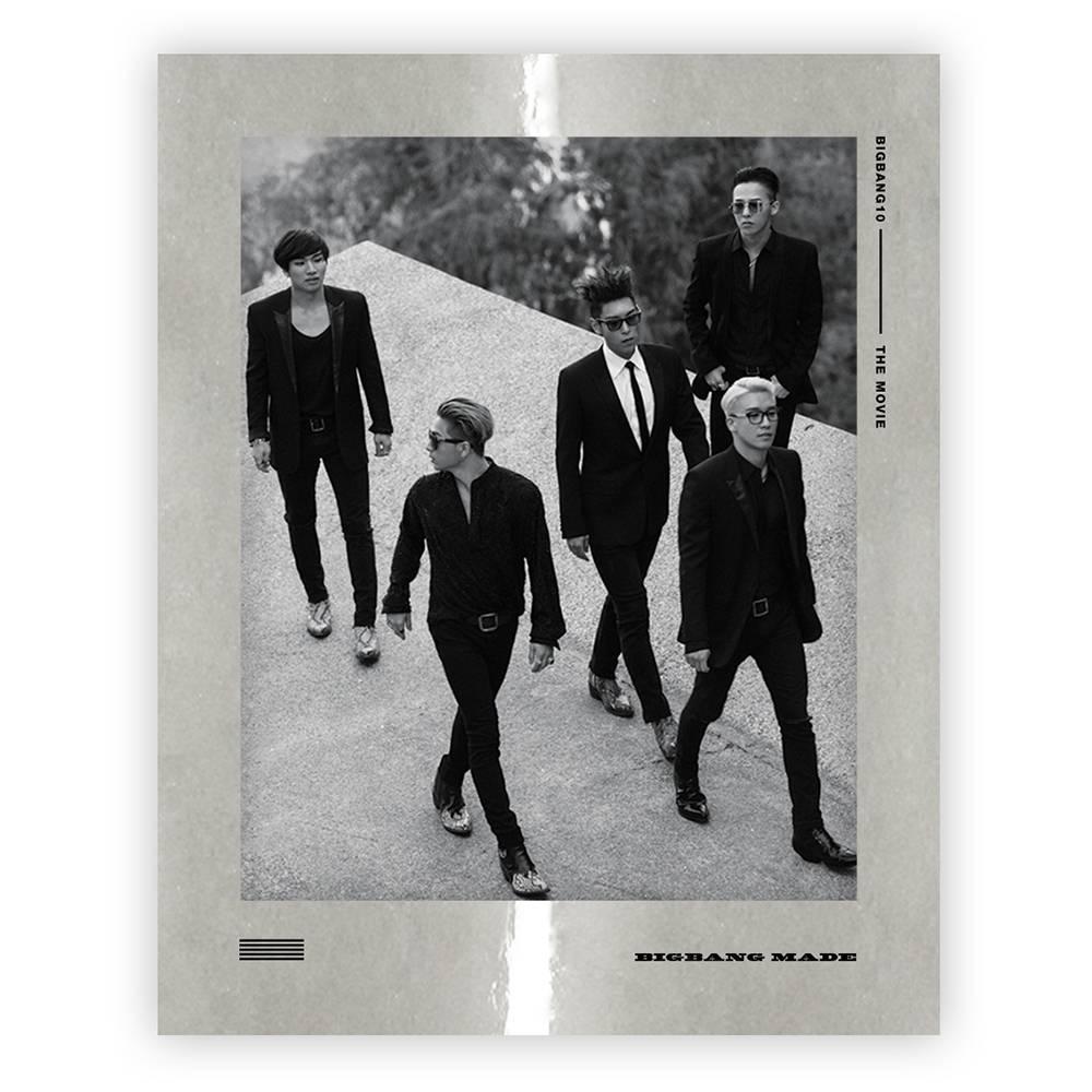 Bigbang - Bigbang10 The Movie Bigbang Made Blu-ray Disc Full Package Box