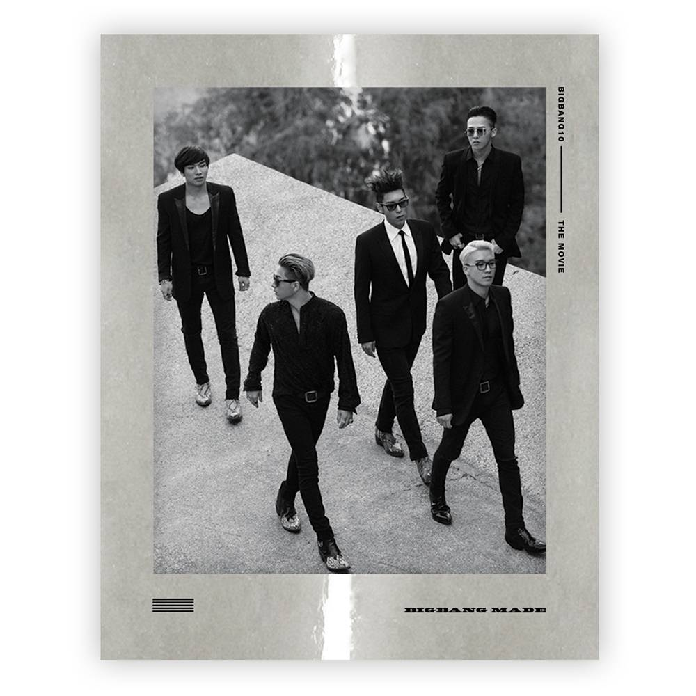 Bigbang - Bigbang10 The Movie Bigbang Made Blu-ray Disc Full Package Box