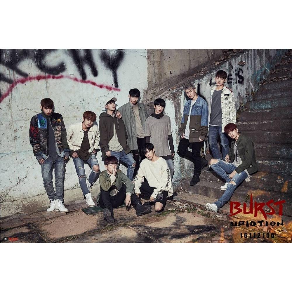 UP10TION - 5th Mini Album Burst