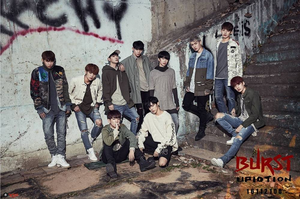 UP10TION - 5th Mini Album: Burst CD