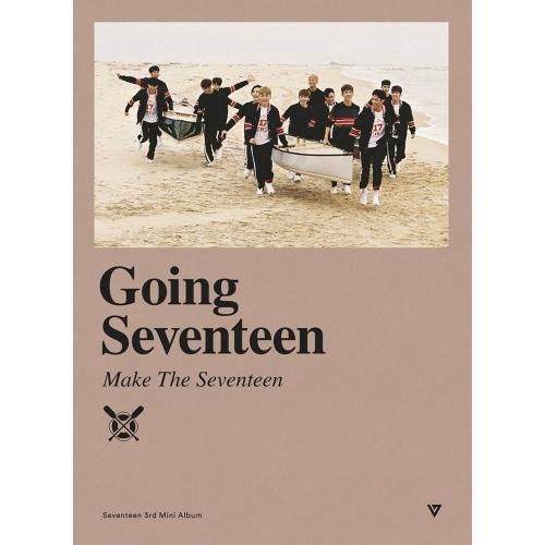 Seventeen - 3rd Mini Album: Going Seventeen CD (Make The Seventeen Ver.)