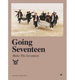 Seventeen - 3rd Mini Album: Going Seventeen CD (Make The Seventeen Ver.)