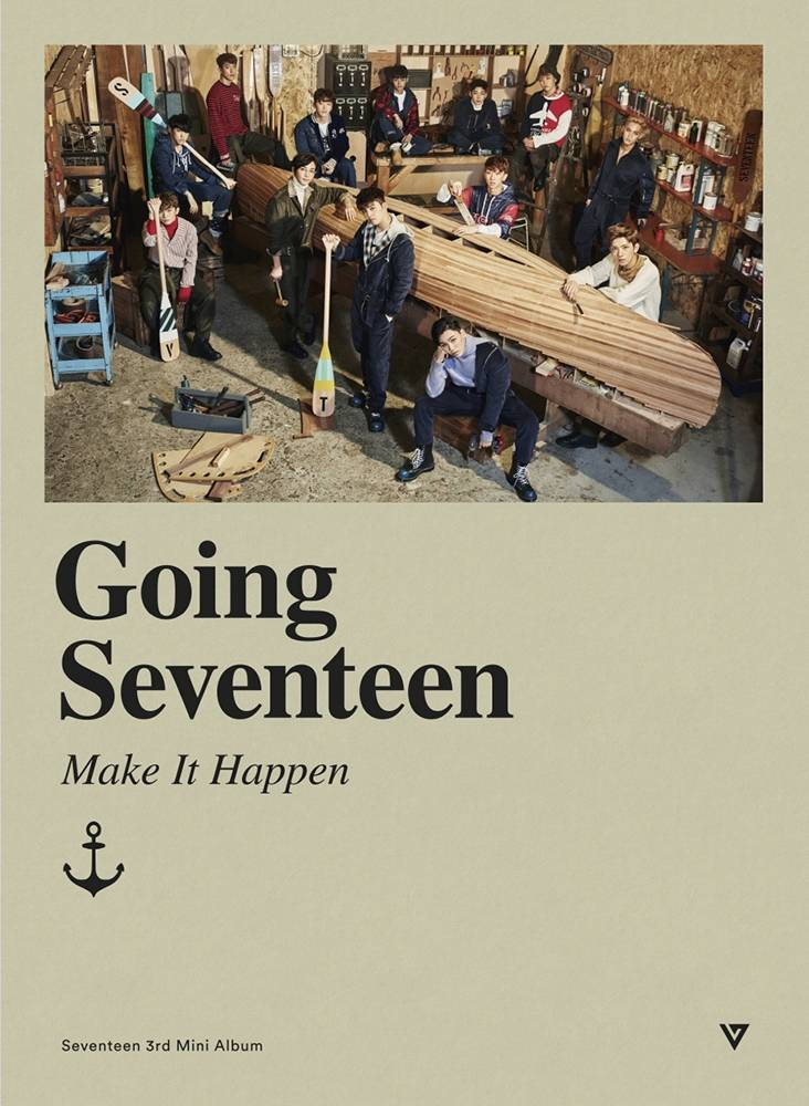 Seventeen - 3rd Mini Album: Going Seventeen CD (Make It Happen Ver.)
