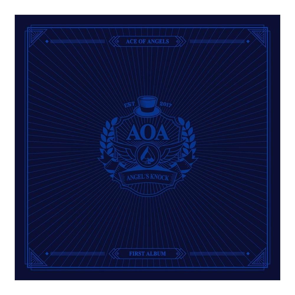 AOA - 1st Album Angel's Knock (Ver. B)