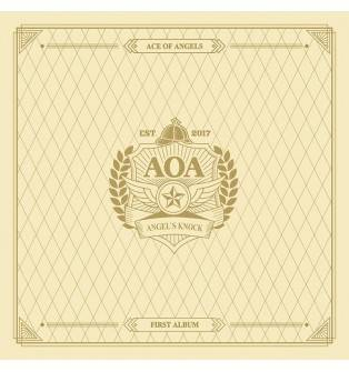 AOA - 1st Album: Angel's Knock CD (Version A)