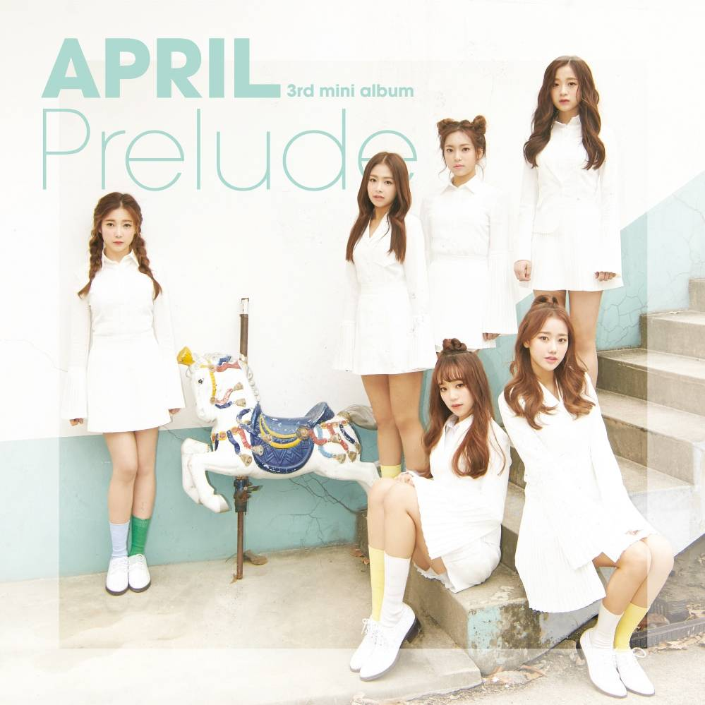 April - 3rd Mini Album: Prelude CD