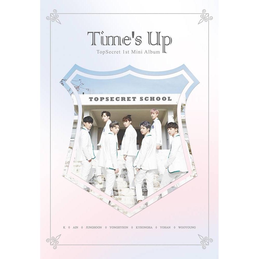 Top Secret - 1st Mini Album Time's Up