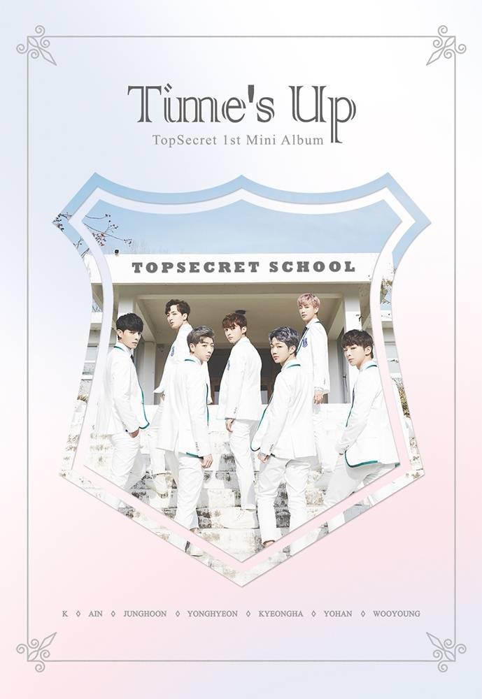 Top Secret - 1st Mini Album: Time's Up